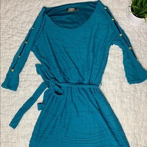 Guess mid sleeve dress
